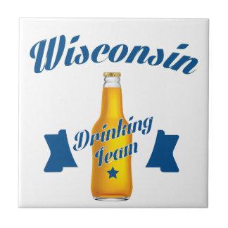 Wyoming Drinking team Tile