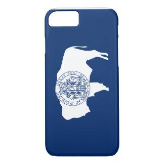 Wyoming Flag iPhone 8/7 Case