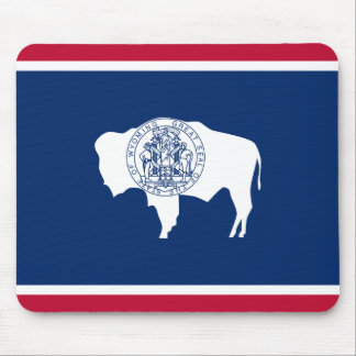 Wyoming Flag Mouse Pad