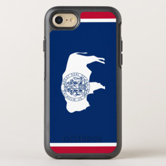 Wyoming Flag OtterBox Symmetry iPhone 8/7 Case