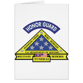 Wyoming Funeral Honors Team Card
