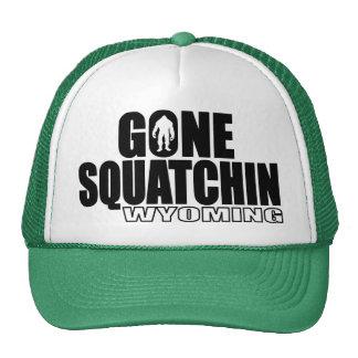 WYOMING Gone Squatchin - Original Bobo Mesh Hat