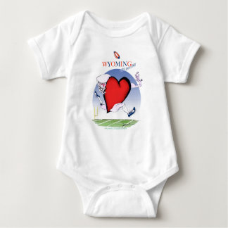wyoming head heart, tony fernandes baby bodysuit