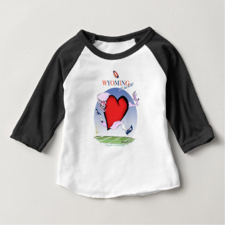 wyoming head heart, tony fernandes baby T-Shirt