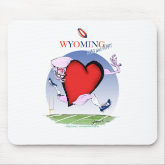 wyoming head heart, tony fernandes mouse pad
