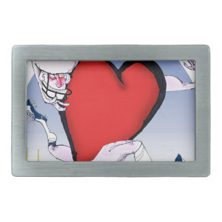 wyoming head heart, tony fernandes rectangular belt buckle
