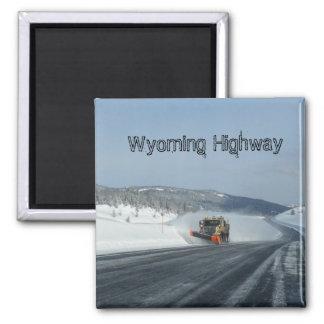 Wyoming Highway Magnet