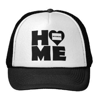 Wyoming Home Heart State Ball Cap Trucker Hat