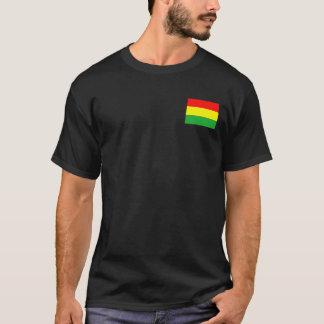 Wyoming in Rasta Colors T-Shirt
