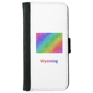 Wyoming iPhone 6 Wallet Case