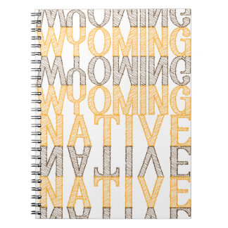 Wyoming Journal Spiral Notebook