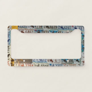 Wyoming Licences Plates Licence Plate Frame