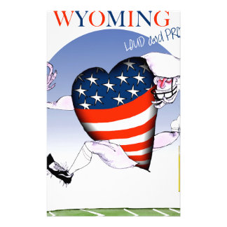 Wyoming loud and proud, tony fernandes stationery