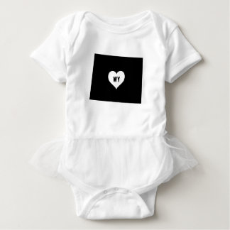 Wyoming Love Baby Bodysuit