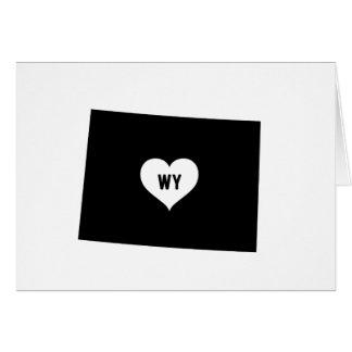 Wyoming Love Card
