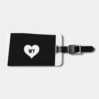 Wyoming Love Luggage Tag
