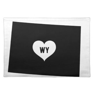 Wyoming Love Placemat