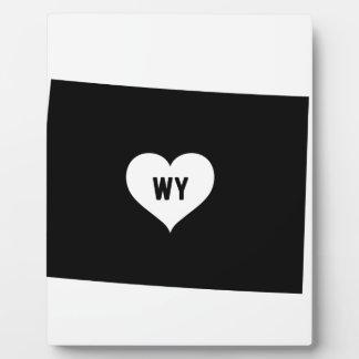 Wyoming Love Plaque