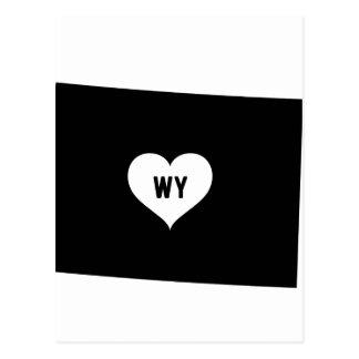 Wyoming Love Postcard