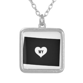 Wyoming Love Silver Plated Necklace