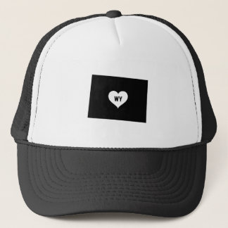 Wyoming Love Trucker Hat