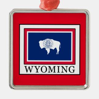 Wyoming Metal Ornament