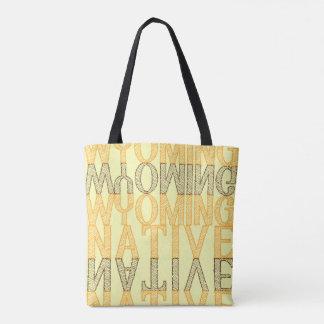 Wyoming Native Tote Bag
