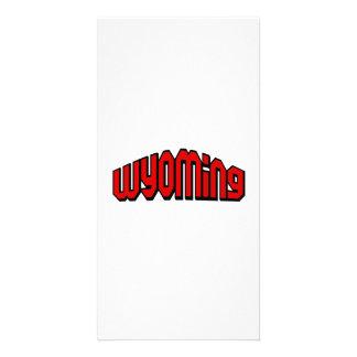 Wyoming Photo Card