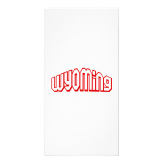 Wyoming Photo Card Template