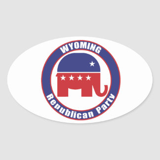 Wyoming Republican Party Sticker