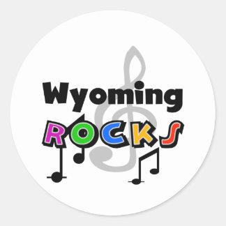 Wyoming Rocks Sticker