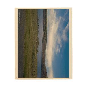 Wyoming Skies Wood Wall Decor