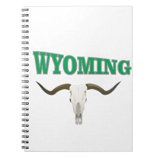 Wyoming skull notebooks