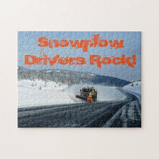 Wyoming Snowplow Puzzle