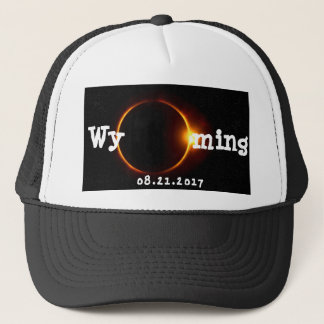 Wyoming Solar Eclipse Trucker Hat