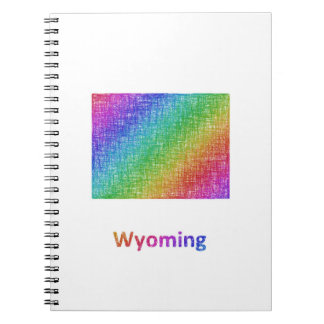 Wyoming Spiral Notebook