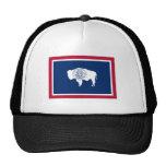 Wyoming State Flag Mesh Hat