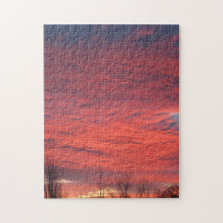 Wyoming Sunset Puzzle