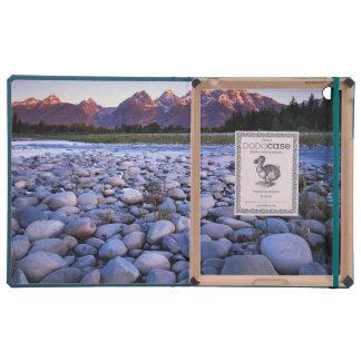 Wyoming, Teton National Park, Snake River iPad Folio Cover