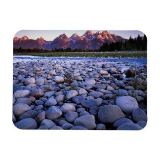 Wyoming, Teton National Park, Snake River Rectangular Photo Magnet