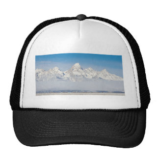 WYOMING TETONS WITH SNOW MESH HATS