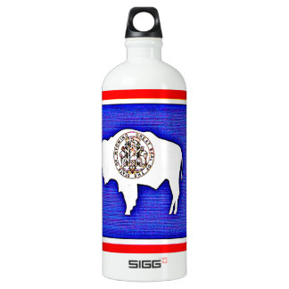 Wyoming The Equality State Water Bottle