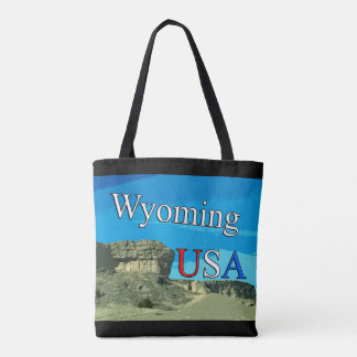 Wyoming USA All Over Tote Bag
