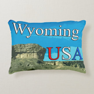 "Wyoming USA Grade A Cotton Accent Pillow 16"" x 12"""