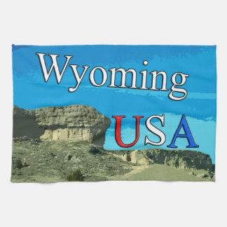 "Wyoming USA Kitchen Towel 16"" x 24"""