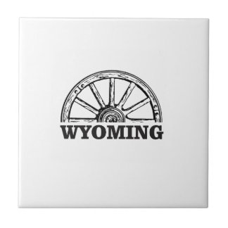wyoming wheel ceramic tile