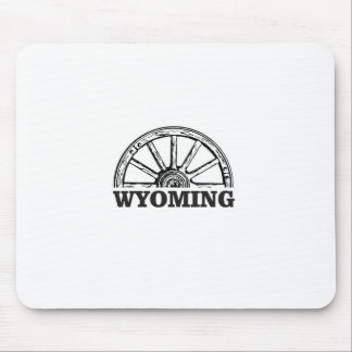 wyoming wheel mouse pad