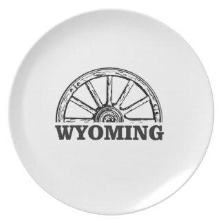 wyoming wheel plate