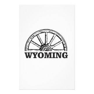 wyoming wheel stationery