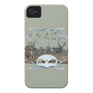 WYOMING wildlife iPhone 4 Case